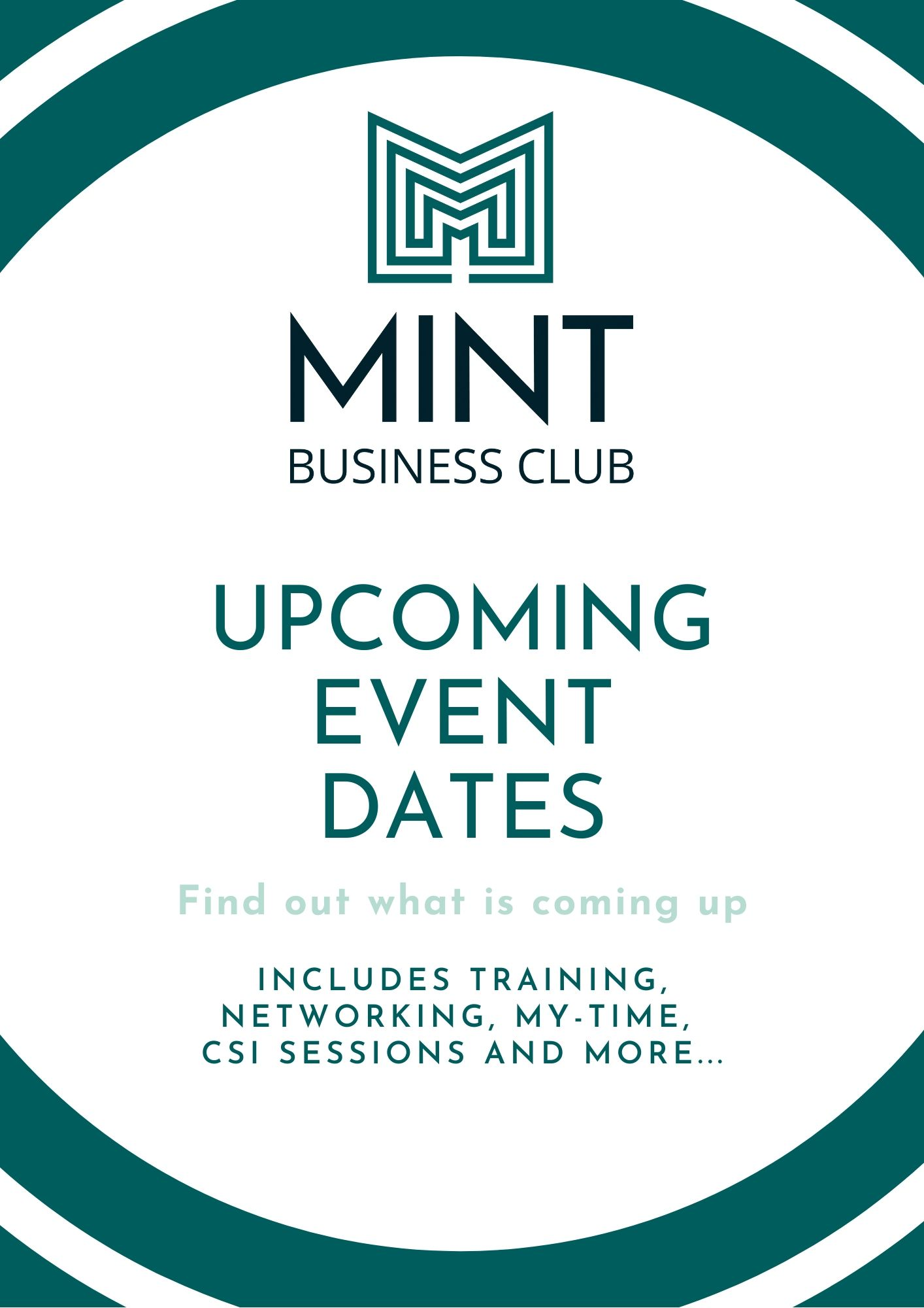 MINT Upcoming Event Dates