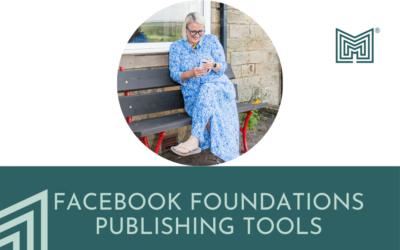 Digital: FB Foundations (publishing tools)
