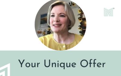 Foundations: Your unique, joyous offer