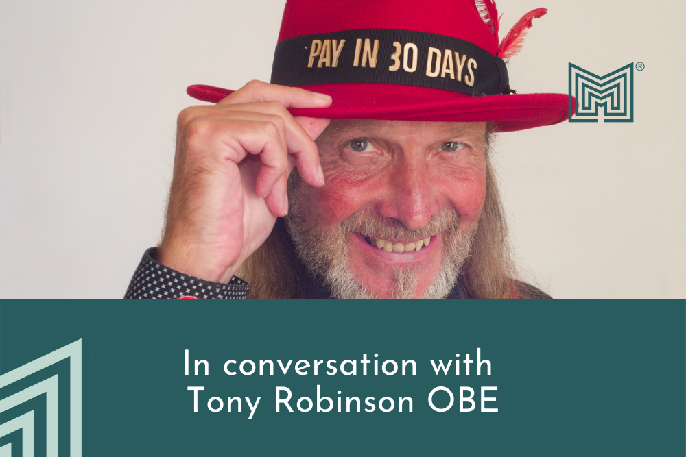 In conversation with Tony Robinson OBE