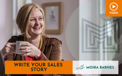 Sales: Story Selling, write YOUR story