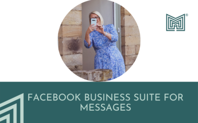 Digital: Using FB Business Suite for messages