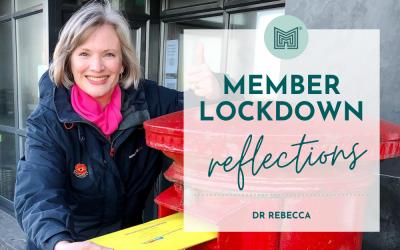 MINT Member Lockdown Reflections: Dr Rebecca